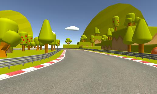 دانلود بازی MES Cartoon Race Car Games برای اندروید