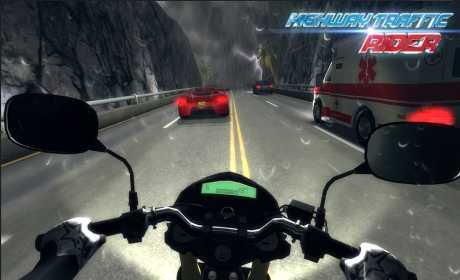highway traffic rider